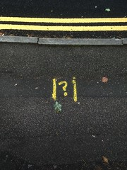 Photo of question mark