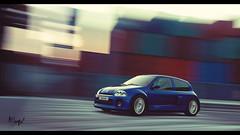 Renault Clio V6 (at1503) Tags: blue motion movement blur speed sky renault cliov6 renaultcliov6 frenchcar hothatch colours colors gtsport granturismo granturismosport motorsport racing game gaming ps4 car