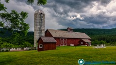 Stormy day at the Hill Farm Inn in Sunderland Vermont (scenicvermontphotography) Tags: barn farm hillfarminn historic historicvermont newengland scenicvermont scenicvermontphotography summer sunderlandvermont vermont vermontattractions vermontbarn vermontfarm vermonthistory vermontlandscape vermontlandscapes