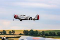 Republic P-47D Thunderbolt (G-THUN) (WP_RAW) Tags: duxford airshow legends flying p47d dday 75y retold warbird nellieb wwii iwm canoneosr