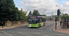 SN16 OGJ, Ipswich Buses ADL Enviro 103, Princes Street, 14th. July 2019. (Crewcastrian) Tags: ipswich buses ipswichbuses transport princesstreet dennis alexander enviro e200 sn16ogj 103