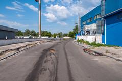 DSC_0064 (Dmitry Rider) Tags: киев київ украина україна ukraine kiev kyiv outdoor construction road obolon d5000 строительство дорога блокбастер николая плавьюка петровка оболонский