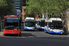 2128-ST, Phillip Street, Sydney, September 20th 2016 (Southsea_Matt) Tags: 2128 2128st routem52 volvo b12blea volgren cr228l phillipstreet sydney newsouthwales australia passengertravel publictransport bus omnibus vehicle canon 60d sigma 1850mm september 2016 spring metrobus bendybus