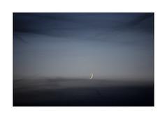 a poem for Wolfi Wolf (Armin Fuchs) Tags: arminfuchs wolfiwolf moon sky clouds blue bleu blau mondsichel faucilledelalune sickleofthemoon poem huldigung hommage