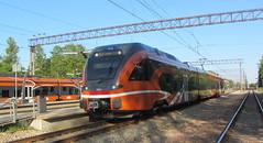 Estonia Stadler FLIRT (onewayticket) Tags: electric railway trains tranport elron stadler flirt stadlerflirt aegviidu estonia emu