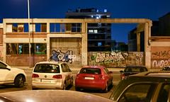 L'Hospitalet de Llobregat (Jorge Franganillo) Tags: lhospitaletdellobregat barcelona spain hospitaletdellobregat catalunya cataluña españa calle street alley callejón nadie nobody outskirts afueras periferiaurbana extrarradio suburbio suburb graffiti grafiti