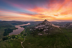 """The Great Pyramid of Donegal"" (Gareth Wray - 13 Million Views, Thank You) Tags: bunbeg gweedore dji poisoned glen mt mount mountain errigal pyramid sun set sunset tory island pano dunlewey church foot phantom four 4 pro p4p drone aerial quadcopter landscape landmark tourist attraction tourism tourists historic history visit donegal ireland irish scenic gareth wray photography atlantic day vacation 2019 derrybeg gaeltacht lake lough hill rural grass trees field reflections top climb hike"
