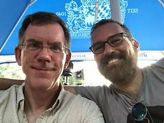 Paul and Juan Luis, dinner at Etto, 14th Street NW, Washington, D.C. (Paul McClure DC) Tags: paulmcclure washingtondc districtofcolumbia restaurant logancircle people july2019