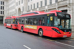 LJ67 DKU + LJ67 DKV (ANDY'S UK TRANSPORT PAGE) Tags: london buses finsbury goaheadlondon londoncentral