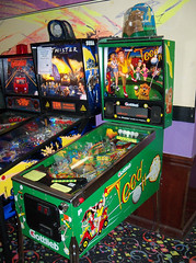 OH Akron - Tee'd Off (scottamus) Tags: pinball machine game table arcade cabinet akron ohio stonehedgeentertainment teedoff premier gottlieb 1993