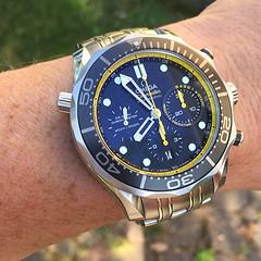 Omega Seamaster Chronograph Ref 212.30.44.50.01.002 (albionphoto) Tags: watch wristwatch omega seamaster chronograph