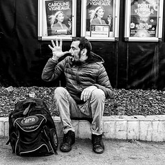 Turlututu (regardsparisiens) Tags: 2019 22mm 6x6 afternoon aprèsmidi black blackandwhite blanc bw candid capturestreets carré city d500 darkisbetter dreaminstreets europe everydayeverywhere extérieur fabricemercier france fromstreetswithlove generationstreet hommes iloveparis iledefrance lensonstreets life lovesnoir monochrome nikon noir noiretblanc noirshots objectifgrandangle paris people photographiederue printemps regardsparisiens rue spring square storyofthestreet storyofthestreets streetfocuson streetphoto streetphotographer streetphotography streetphotographyinternational streetofparis thestreetphotographyclub thestreetphotographyhub ville wearethestreets wearethestreet white worldstreetfeature zonestreet