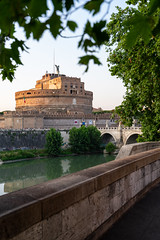 _DSC0469-2 (Ganjee) Tags: castel santangelo tevere lungotevere passeggiata afternoon evening sunset rome roma sony a7ii tamron 2875 travel italy
