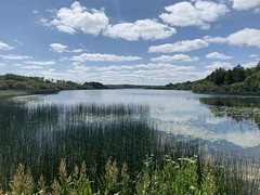 Dromore Wood / Lake - County Clare, Ireland (firehouse.ie) Tags: ireland sky lake water landscape landscapes clare skies lakes eire roi waterscape countyclare waterscapes dromore ruan rural countryside reflections scenery scene clouds cloud