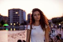 CAMILLA (Luigi_1964_2) Tags: milano camilla ritratto milan italy portrait sunset naviglio darsena shamiri