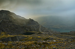 Dinorwic first time (PentlandPirate of the North) Tags: dinorwic slatequarry dinorwig gwynedd snowdonia ruins derelict