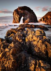 Horse Head Rock (Trevor Tutt) Tags: horseheadrock narooma bermagui light sun ocean morning sunrise australia trevortutt rocks seascape