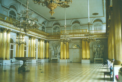 The Armorial Hall, Winter Palace, St Petersburg, Russia