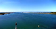 harbor entrance (wNG555) Tags: 2014 oregon newport pacificcoast yaquinabaybridge canonsd790is