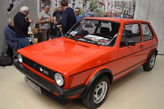 VW Golf GTI MK1 (benoits15) Tags: vw volkswagen golf gti mk1 german red car avignon motor festival