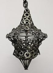 Soudure / Sculpture contemporaine : Lanterne médiévale / 4 branches. (jonathan.pradillon) Tags: lanterne médiévale réverbère fer lampe lumière éclairage ambiance soudure œuvre art originale décoration déco artistique