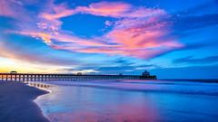 It's What We Do (Explored 7/14/2019) (APGougePhotography) Tags: folly follybeach beach pier sand carolina southcarolina south sunrise color nikon nikond850 d850 sirui charleston cloudsstormssunsetssunrises lowcountry topaz topazlabs