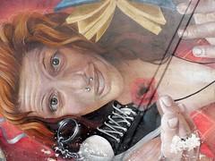 Catania, IT (nothinginside) Tags: catania sicily sicilia centro storico castello ursino ursini 2019 summer holiday graffiti wall mural murales pop art urban spray italia italy face viso volto faccia donna ragazza lady girl