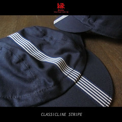 【 classicline stripe 】 (jun.skywalker (enishi hand made cyclecap)) Tags: classiclinestripe classicline stripe enishi enishicyclecap cyclecap cyclingcap kyoto nishijin japan bike bicycle roadbike 縁 縁enishi