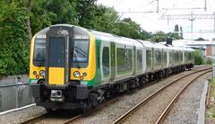 Departing Cannock (The Walsall Spotter) Tags: class350 desiro emu 350247 cannock railway station thechaseline thechaselineelectrification overheadlineequipment overheadwires britishrailways networkrail