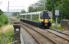 Next stop...... Cannock (The Walsall Spotter) Tags: class350 desiro emu 350247 cannock railway station thechaseline thechaselineelectrification overheadlineequipment overheadwires britishrailways networkrail