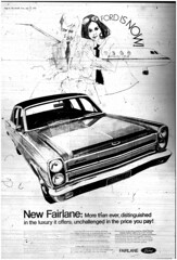 The Melbourne Herald- Tuesday July 15, 1969- Page 8- New Ford Fairlane Ad (Vax80) Tags: apollo 11 moon landing nasa national aeronautics space administration july 1969 melbourne the herald newspaper neil armstrong edwin buzz aldrin michael collins saturn command service lunar module rocket cape canaveral kennedy australia united states america ford fairlane