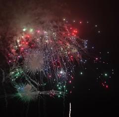 Galaxy? no it is fireworks (t_eriguchi) Tags: summer japan fireworks voigtlander yokohama galaxy sky night
