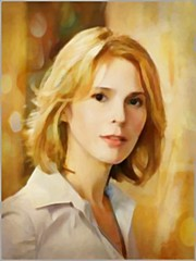 Sabrina...HSS (novice09) Tags: slidersunday hss screenshot dreamscope ipiccy painterly