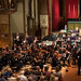 ESCN0171left Ealing Symphony Orchestra. Leader Peter Nall. Conductor John Gibbons. St Barnabas Church, west London. 13th July 2019