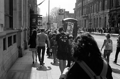 roll781_17 (redspotted) Tags: extinctionrebellion film kentmere400 leicam6 leicasummicron50mmf2type3 posttoflickr protest roll781 scan