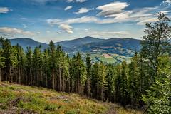 Lysá hora z Prašivé (Radebe27) Tags: beskydy beskiden obloha sky krajina landscape leto summer czechrepublic ceskarepublika sony nex6 hdr