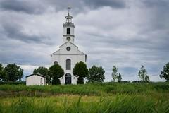 white church of Simonshaven (peter manintveld) Tags: kerk sky white church lucht wit simonshaven