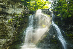 Light Waters (Matt Champlin) Tags: sunday beautiful nature outdoors water waterfall light amazing ethereal heavenly paradise ithaca canon 2019 hike hiking weekend summer ny