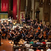 ESCN071right Ealing Symphony Orchestra. Leader Peter Nall. Conductor John Gibbons. St Barnabas Church, west London. 13th July 2019