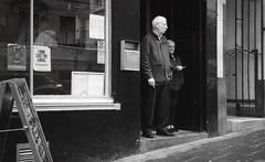 Untitled (Barry Carr) Tags: fomapanaction400 blackandwhite street mono streetmonochrome agfaoptimasensor1035 kodakxtol tayside analogue scotland monochrome streetmono xtol agfa fomapan streetphoto streetphotography bw film dundee analog