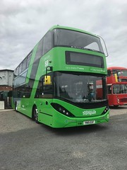 Nct 492 Lime Line 58 (Snape Bus Pics) Tags: scania nct nottinghamcitytransport 492 alexanderdennis enviro400 limeline58 yn19egf greatcentralrailway
