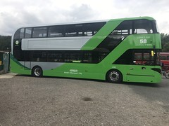 Nct 492 Lime Line 58 (Snape Bus Pics) Tags: yn19egf enviro400 alexanderdennis scania limeline58 nottinghamcitytransport 492 nct