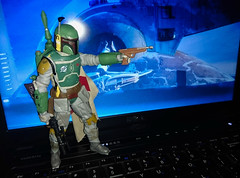 Boba Fett 6in Bootleg Black Series (pitdroidtech) Tags: star wars figures 6in black series