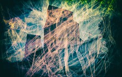 Grain Elevators, Creston, B.C. (Crusty Da Klown) Tags: grainelevators creston bc britishcolumbia canada kootenays tall big huge enormous massive gigantic monstrous herculean historic history background backdrop farming agriculture town minolta camera 35mm kodak expired 400 film negative transparency scanner scanned scan colors hue tone tint contrast outdoors outside view scenery