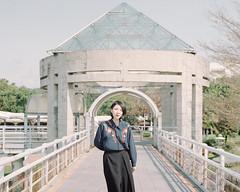 https://www.instagram.com/kaku_foto/ (カク チエンホン) Tags: film kodak portrait people portra400 pentax taiwan taipei girl 67 v600
