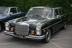 1971 Mercedes-Benz 280SE 4.5 (davocano) Tags: mwv598j w108 w109 historicsatbrooklands carauction
