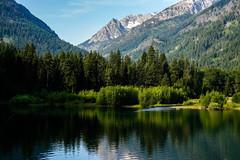 Wallowa Lake - Oregon (Bernie Duhamel) Tags: wallowalake oregon joseph calm water lake reservoir greatphotographers teamsony sonya7riii sonyfe2470mm bernie duhamel landscape reflection snow mountains eaglegapwilderness