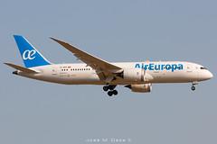 Air Europa B787-8 EC-MPE (José M. Deza) Tags: 20190713 aireuropa b7878 bcn boeing dreamliner ecmpe elprat lebl planespotting spotter aircraft