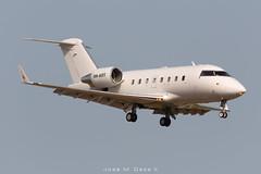 Air CM Global CL-600-2B16 Challenger 601 9H-ART (José M. Deza) Tags: 20190713 9hart aircmglobal bcn bombardier cl6002b16challenger601 elprat lebl planespotting spotter aircraft