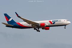Azur Air B767-3YOER VP-BUX (José M. Deza) Tags: 20190713 azurair b7673yoer bcn boeing elprat lebl planespotting spotter vpbux aircraft